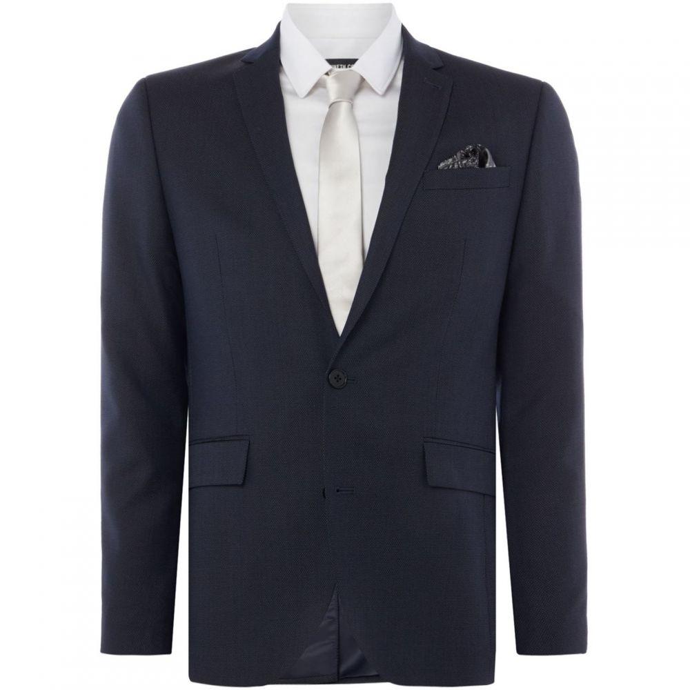 ケネス コール Kenneth Cole メンズ スーツ・ジャケット アウター【Pelham Pindot Slim Fit Suit Jacket】Navy
