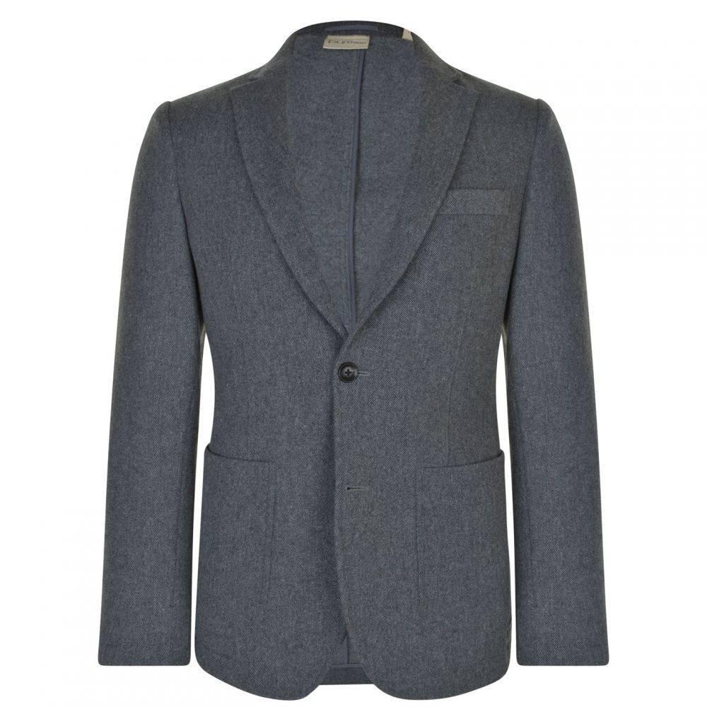 ダナ キャラン ニューヨーク DKNY メンズ スーツ・ジャケット アウター【Pocket Blazer】Smoke Heather