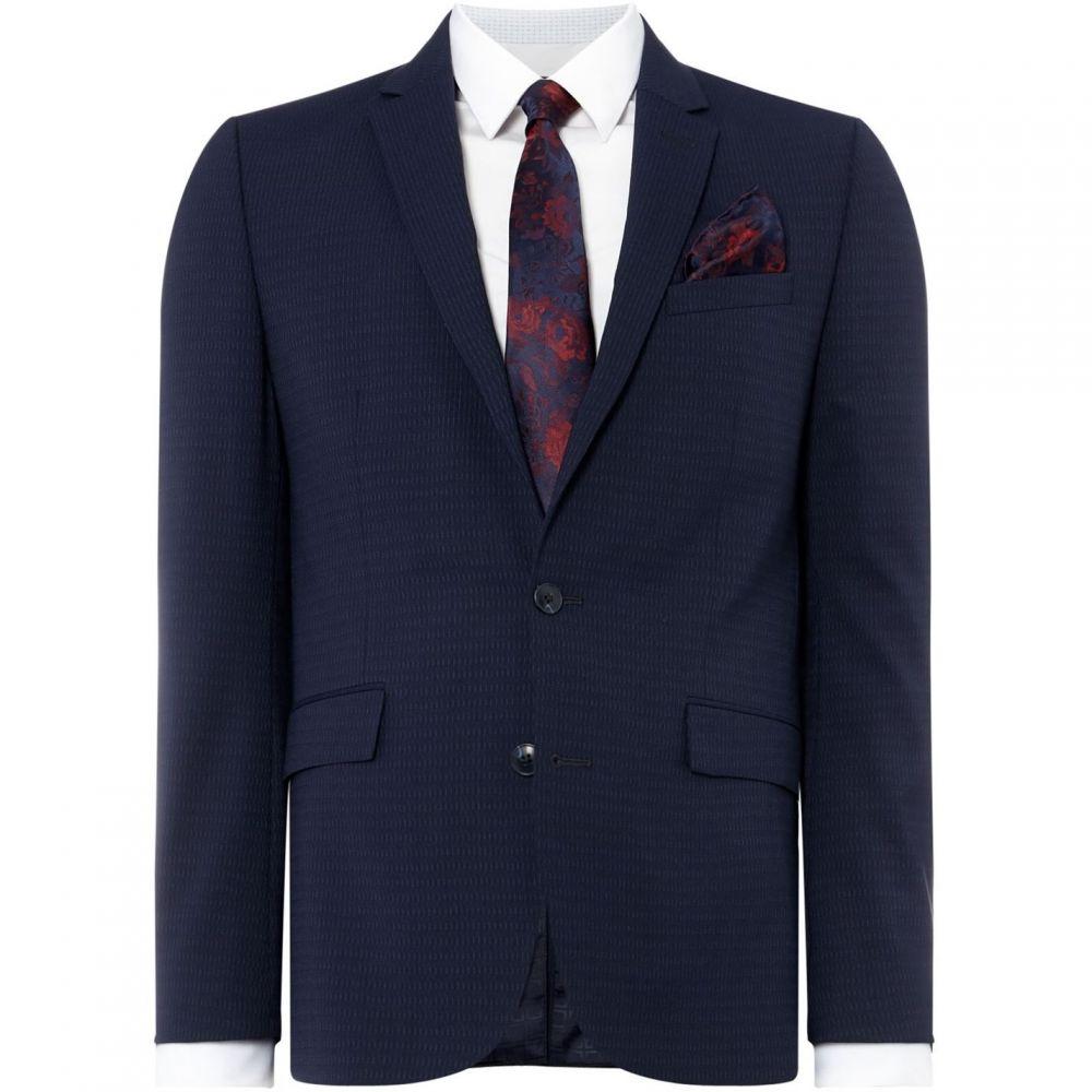 ケネス コール Kenneth Cole メンズ スーツ・ジャケット アウター【Sydney Jacquard Broken Stripe Suit Jacket】Navy