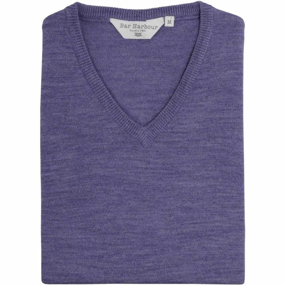 ダブルTWO Double Two メンズ ノースリーブ Vネック トップス【King Size V Neck Sleeveless Sweater】Heather