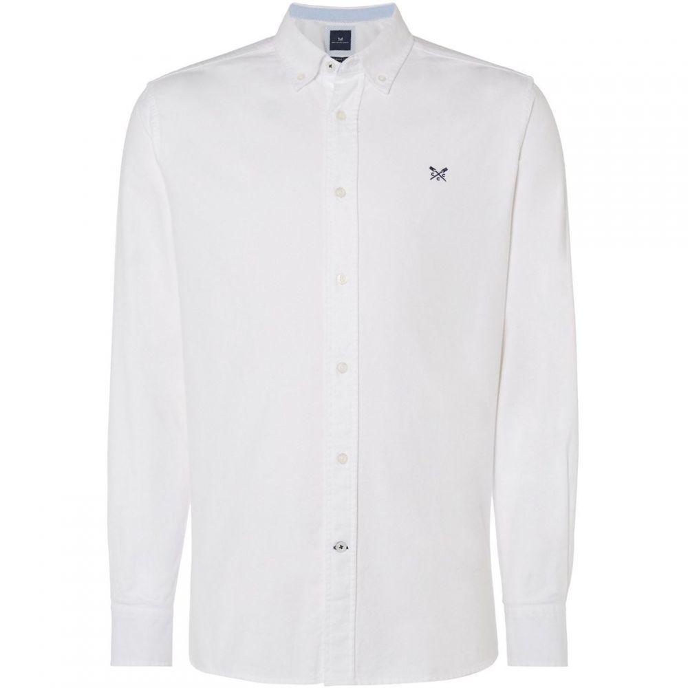 クルークロッシングカンパニー Crew Clothing Company メンズ シャツ トップス【Oxford Shirt】White
