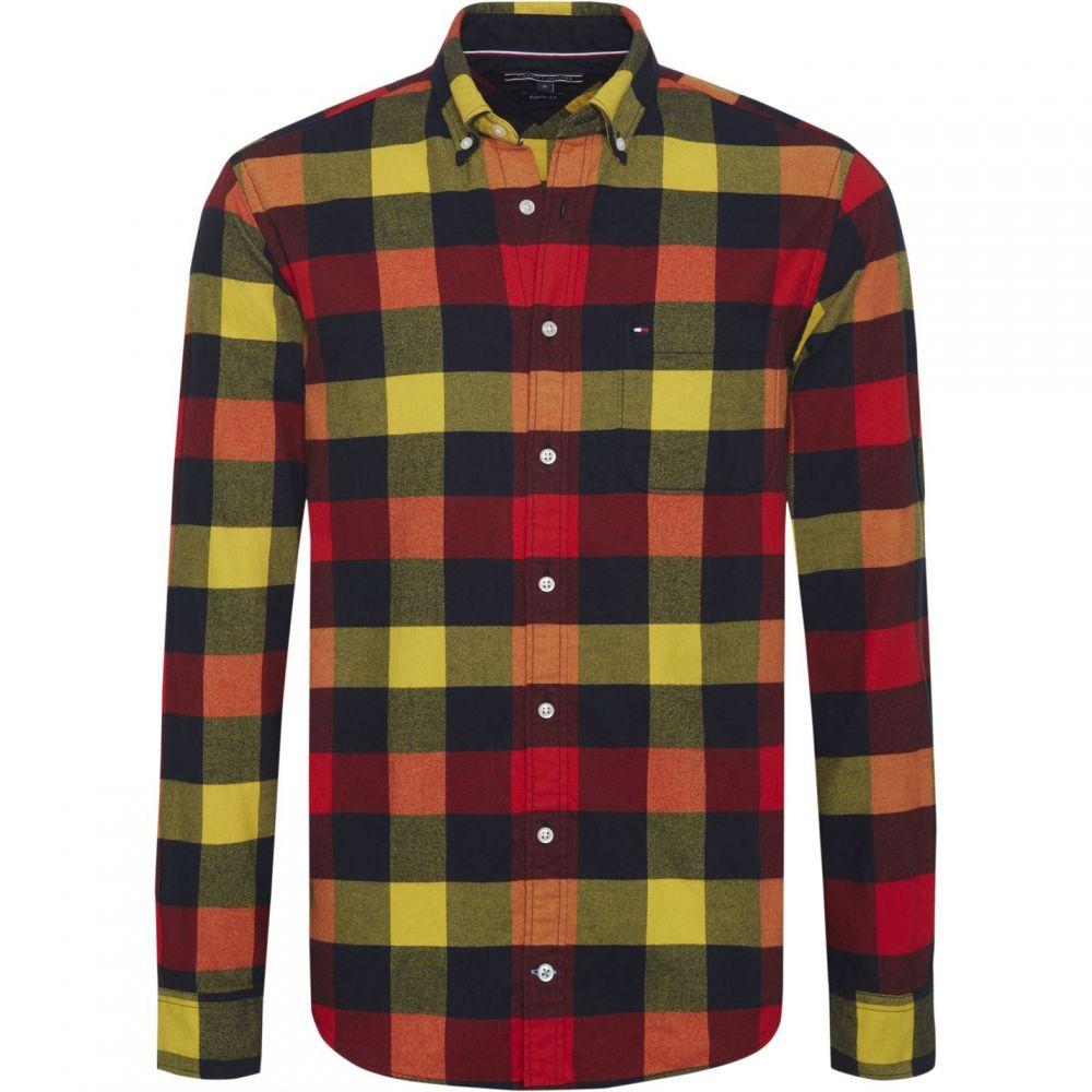 トミー ヒルフィガー Tommy Hilfiger メンズ シャツ フランネルシャツ トップス【Bold Check Flannel Shirt】Multi-Coloured