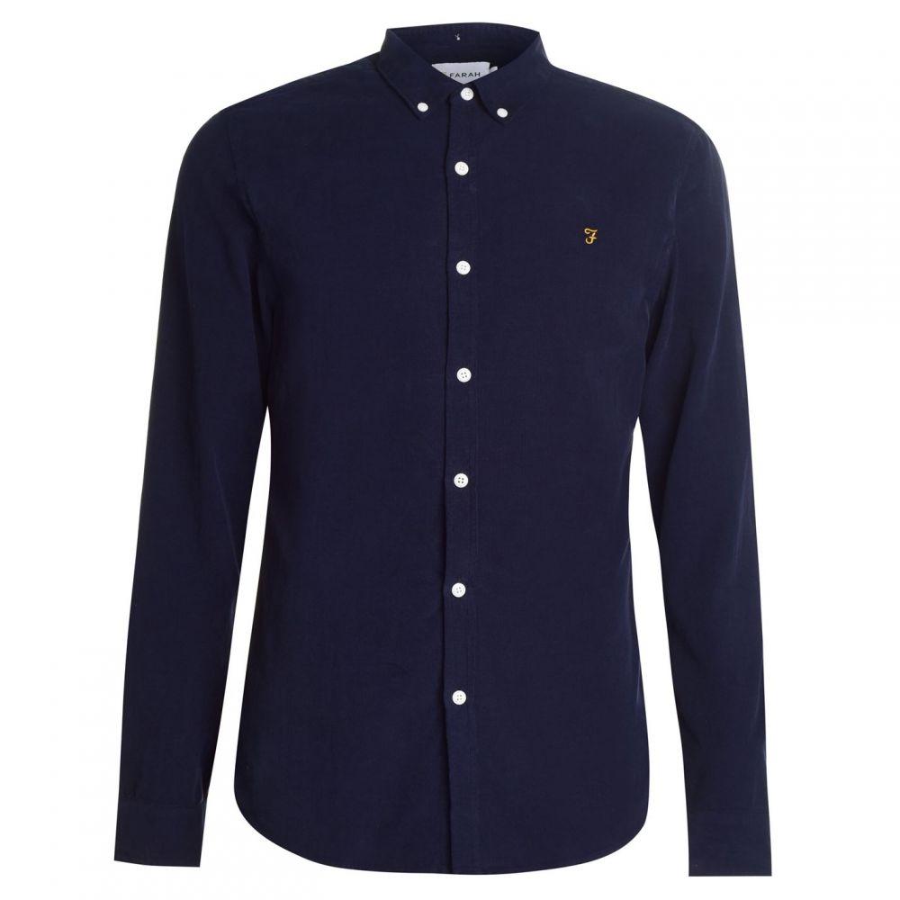 ファーラーヴィンテージ Farah Vintage メンズ シャツ トップス【Fontella Cord Shirt】True Navy