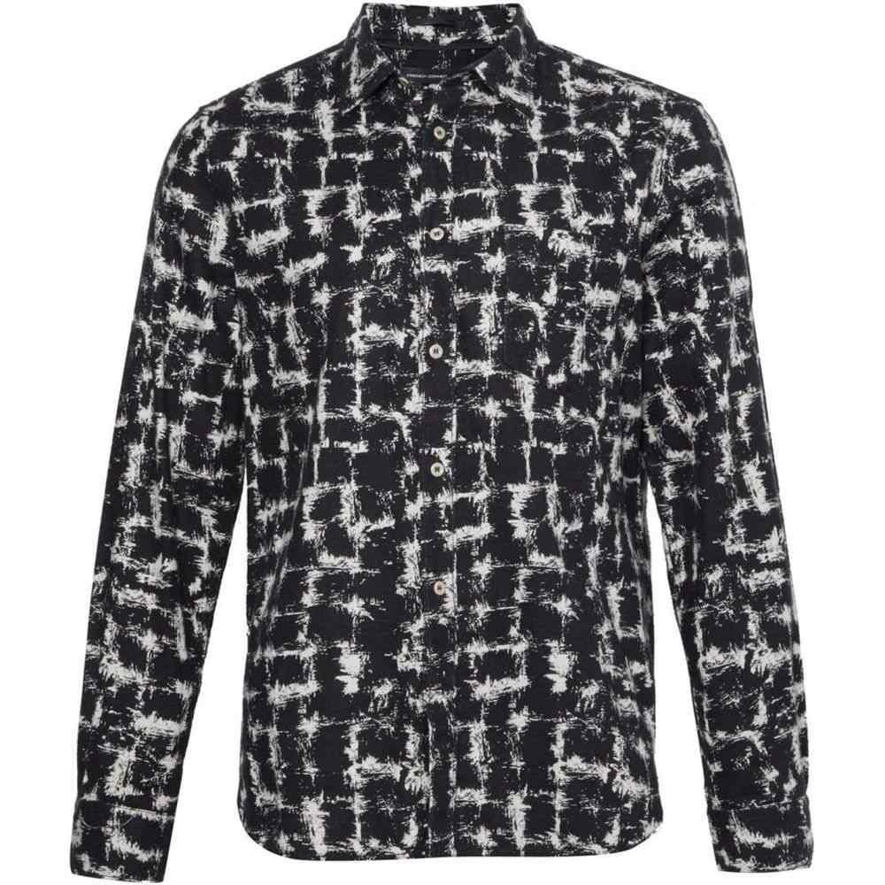 フレンチコネクション French Connection メンズ シャツ フランネルシャツ トップス【Chaos Check Flannel Shirt】black multi