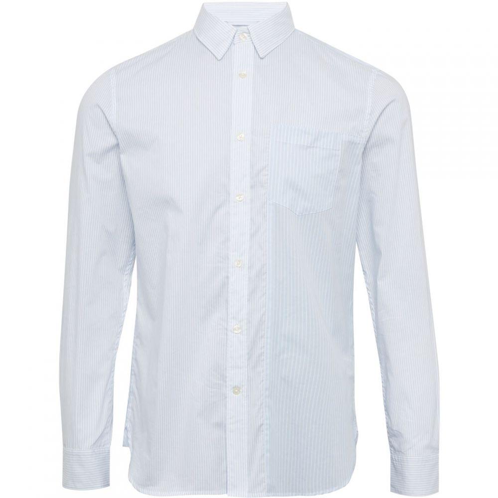 フレンチコネクション French Connection メンズ シャツ トップス【Border Stripe Shirt】White/Navy