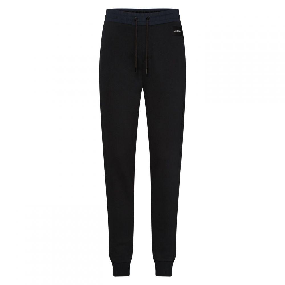 カルバンクライン Calvin Klein メンズ ジョガーパンツ ボトムス・パンツ【Mixed Media Jogger】Black