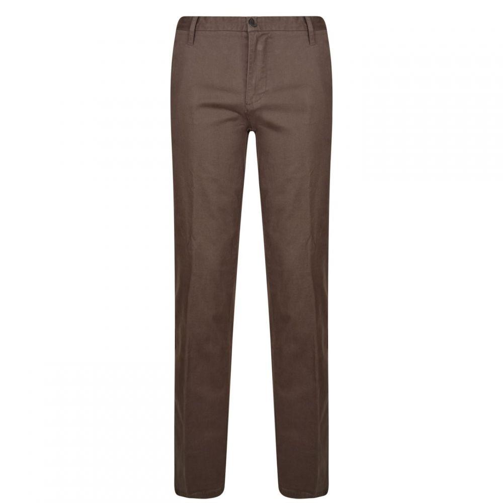 ダナ キャラン ニューヨーク DKNY メンズ ボトムス・パンツ 【Straight Leg Trousers】Cast Iron