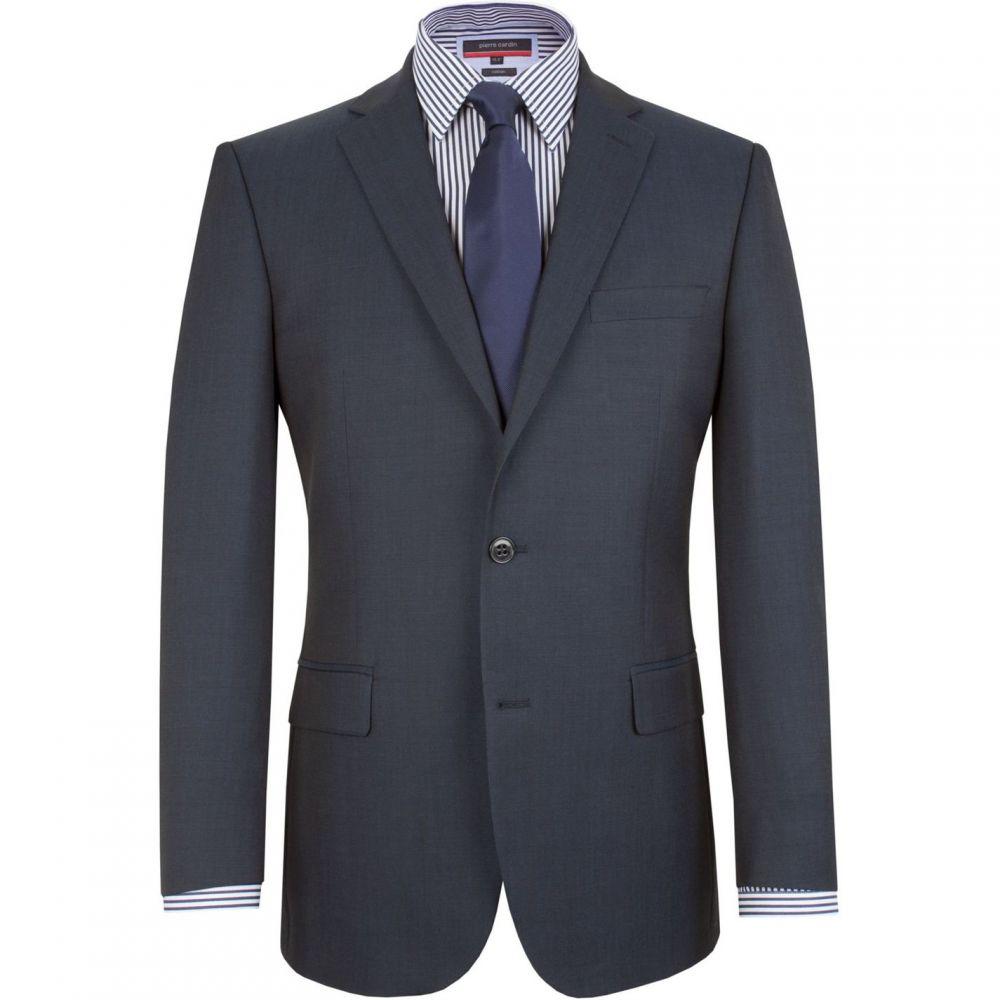 ピエール カルダン Pierre Cardin メンズ スーツ・ジャケット アウター【Plain Notch Collar Classic Fit Suit Jacket】Blue