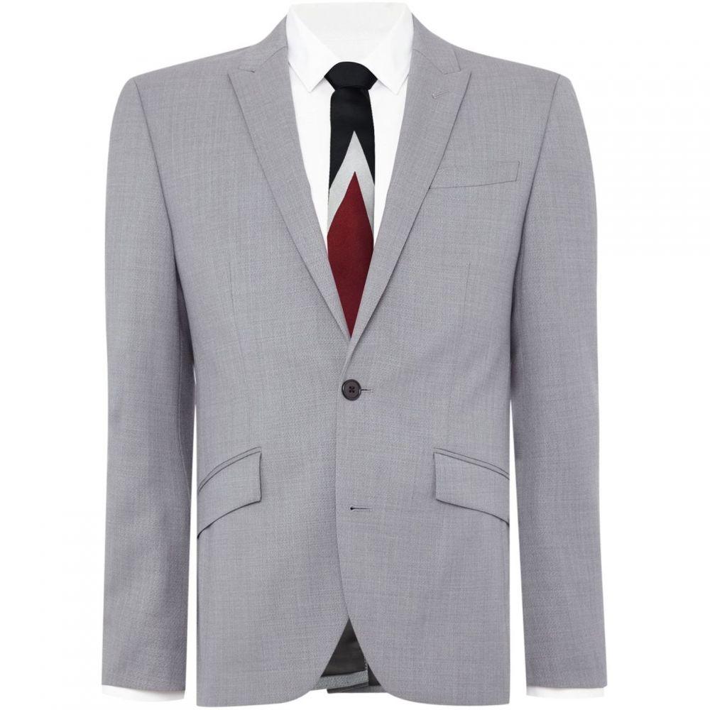 品多く ケネス コール Cole Kenneth Cole メンズ スーツ ケネス コール・ジャケット アウター【Davenport SB2 Textued Suit Jacket】Grey:フェルマート, インポート雑貨:5fe15f41 --- nagari.or.id