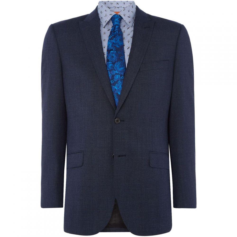 サイモン カーター Simon Carter メンズ スーツ・ジャケット アウター【Semi Plain Suit Jacket】Blue
