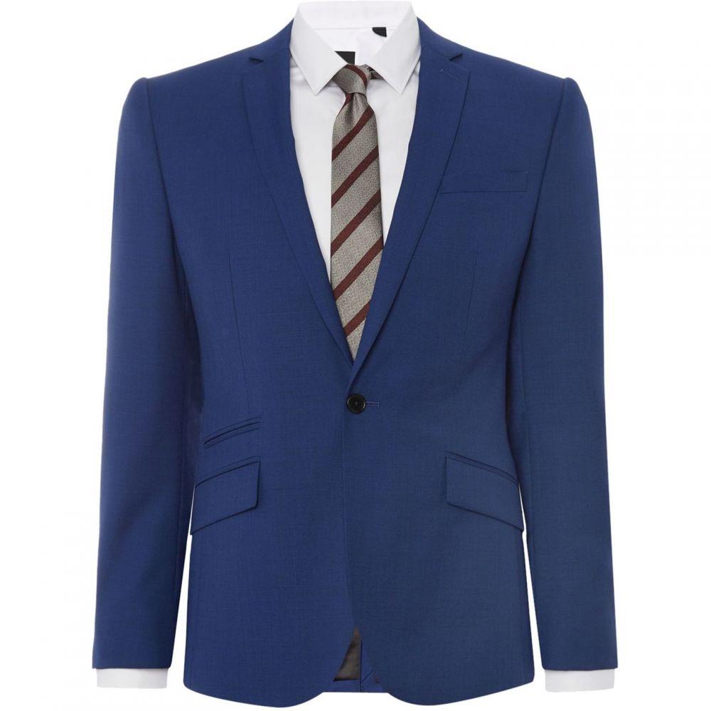 ケネス コール Kenneth Cole メンズ スーツ・ジャケット アウター【Lance Micro Texture Jet Pocket Jacket】Electric Blue
