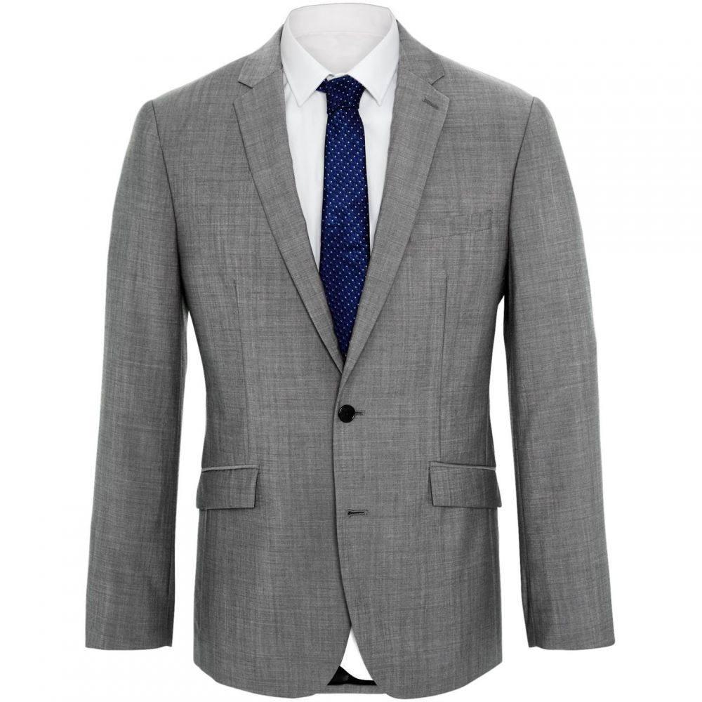 ケネス コール Kenneth Cole メンズ スーツ・ジャケット アウター【Kennedy grey mohair jacket】Grey