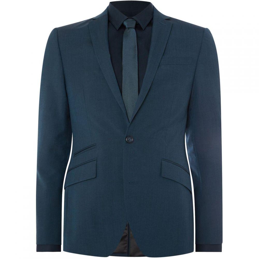 【気質アップ】 ケネス Fit コール Slim Kenneth Cole Cole メンズ スーツ・ジャケット アウター【Preston Slim Fit Suit Jacket】Teal:フェルマート, 栗橋町:e1573453 --- nagari.or.id