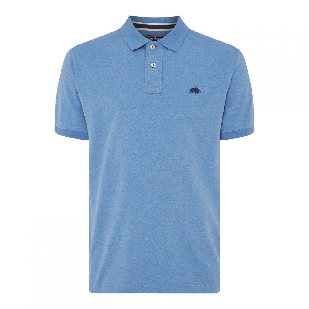 ライジング ブル Raging Bull メンズ ポロシャツ トップス【Signature Jersey Polo】Mid Blue