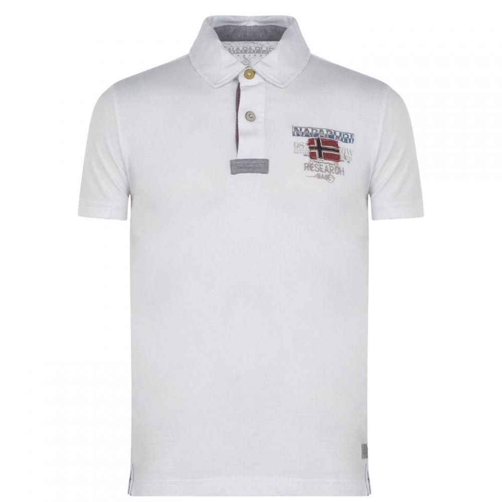 ナパピリ Napapijri メンズ ポロシャツ トップス【Estra Polo Shirt】Bright White