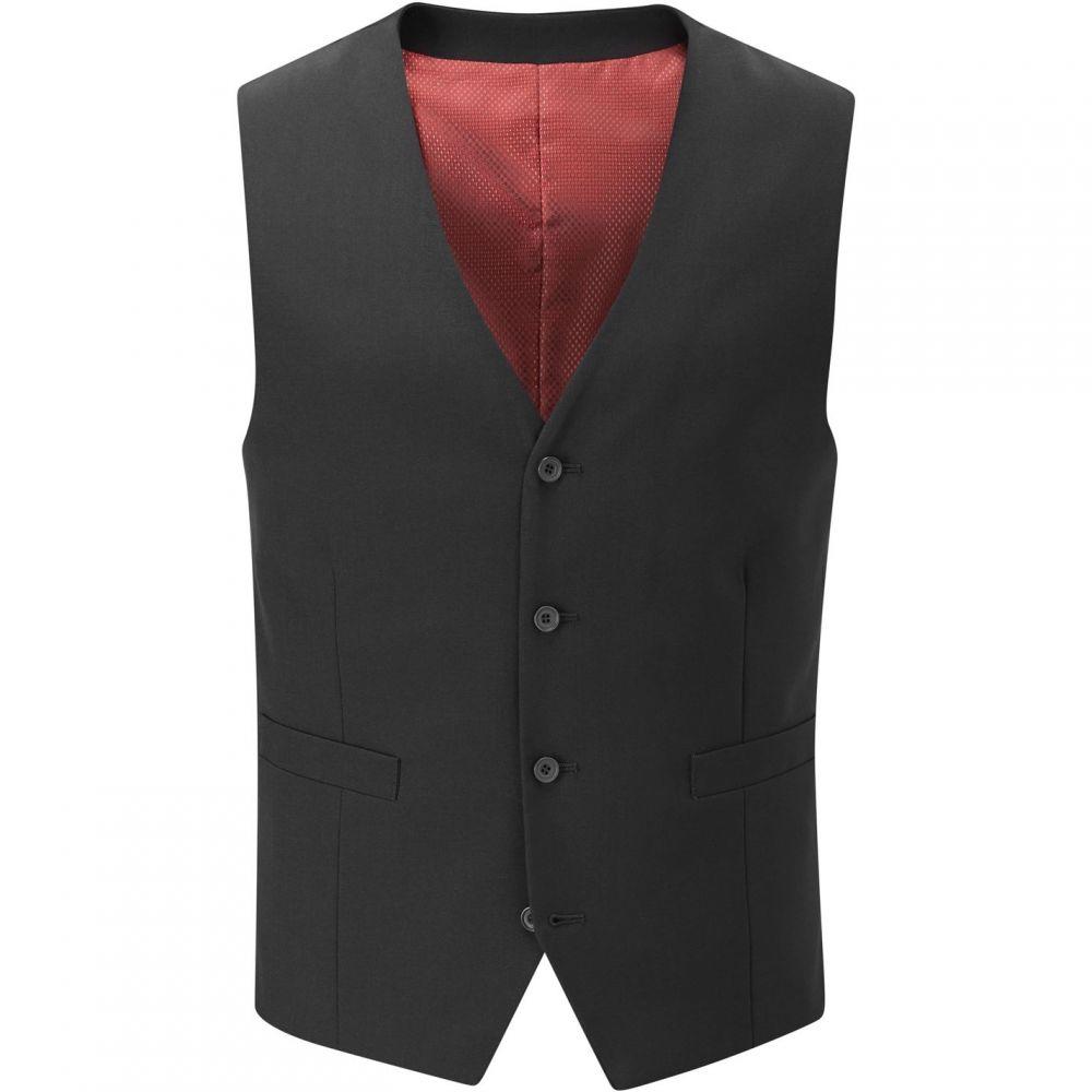 スコープス Skopes メンズ ベスト・ジレ トップス【Darwin Suit Waistcoat】Black