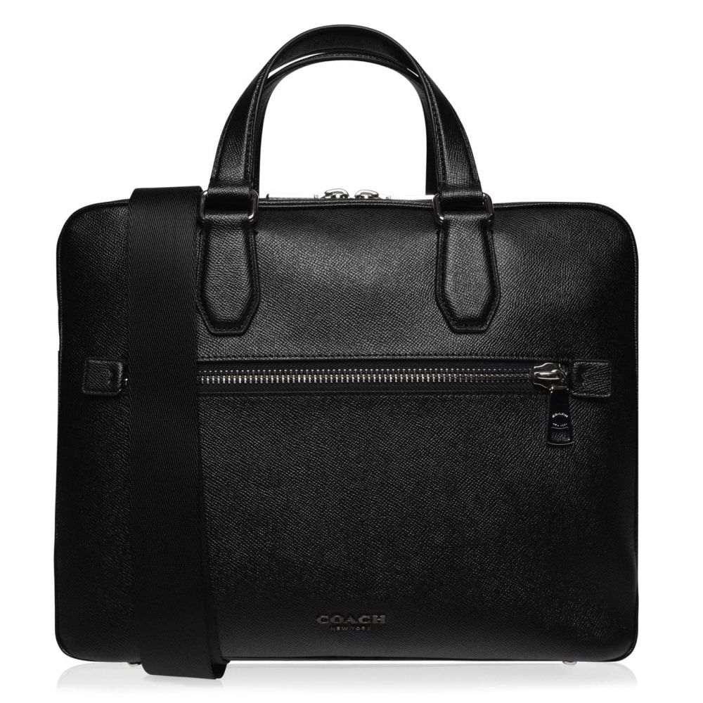 コーチ Coach メンズ パソコンバッグ バッグ【Kennedy Laptop Bag】Black
