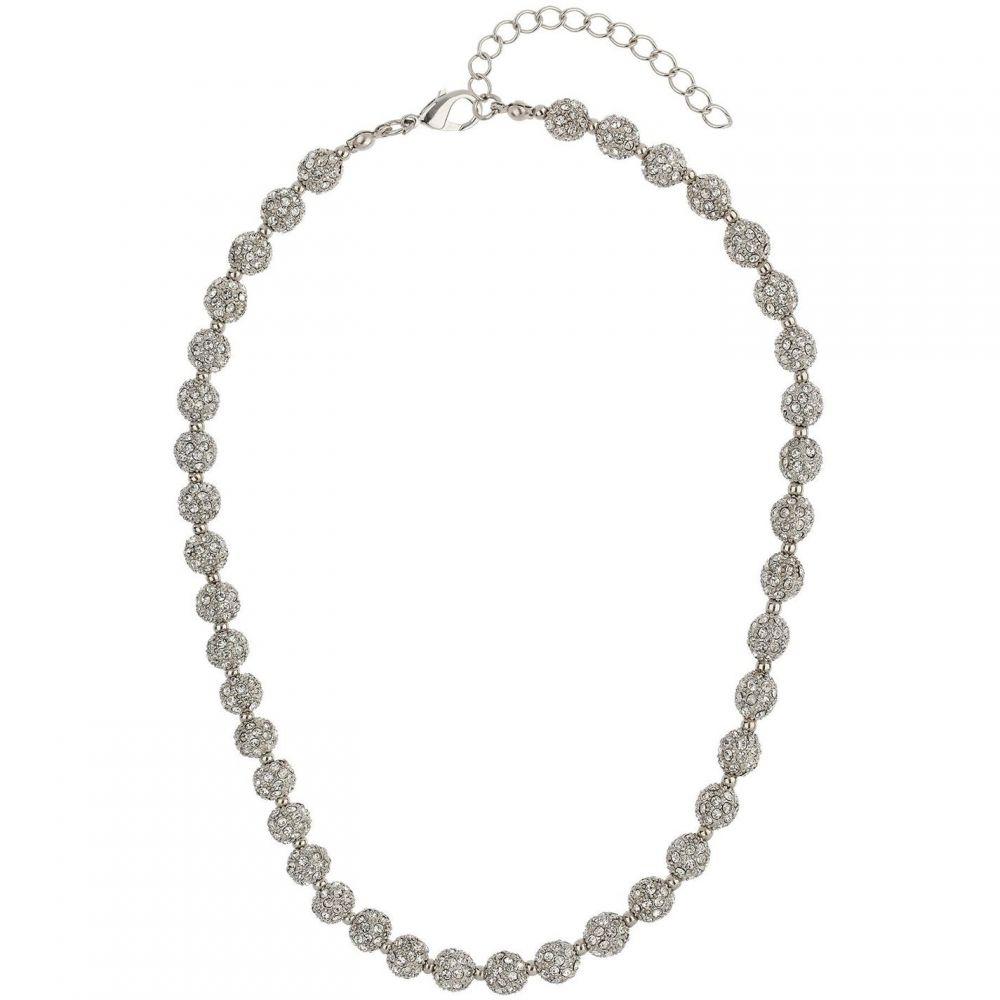 メイソン ナイト イェーガー Mason Knight Yager メンズ ネックレス ジュエリー・アクセサリー【Crystal small heavy necklace】White
