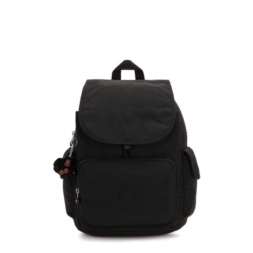 キプリング Kipling レディース バックパック・リュック バッグ【City Pack Backpack】True Black