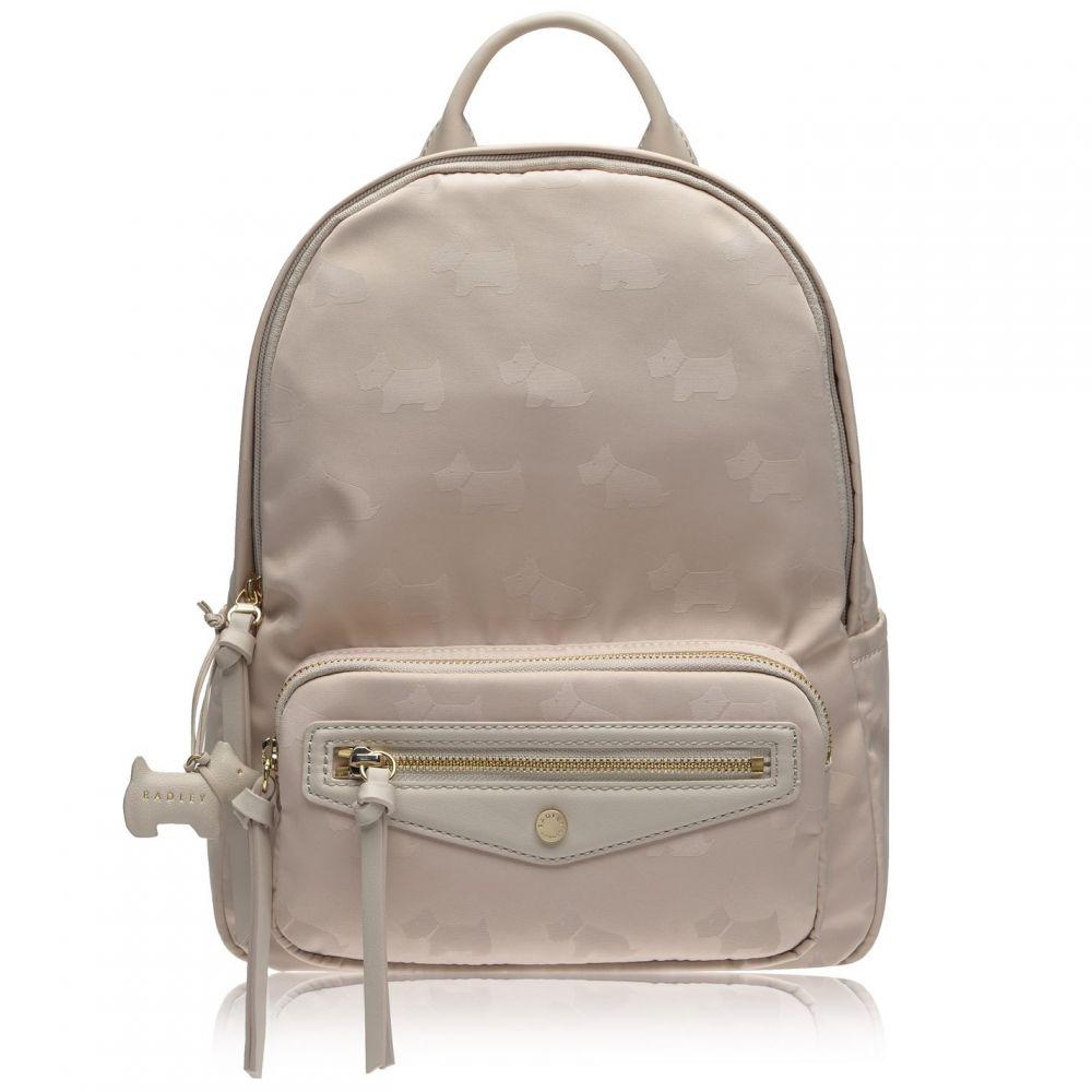 ラドリー Radley レディース バックパック・リュック バッグ【Jaquard Medium Zip Around Backpack】DOVE GREY