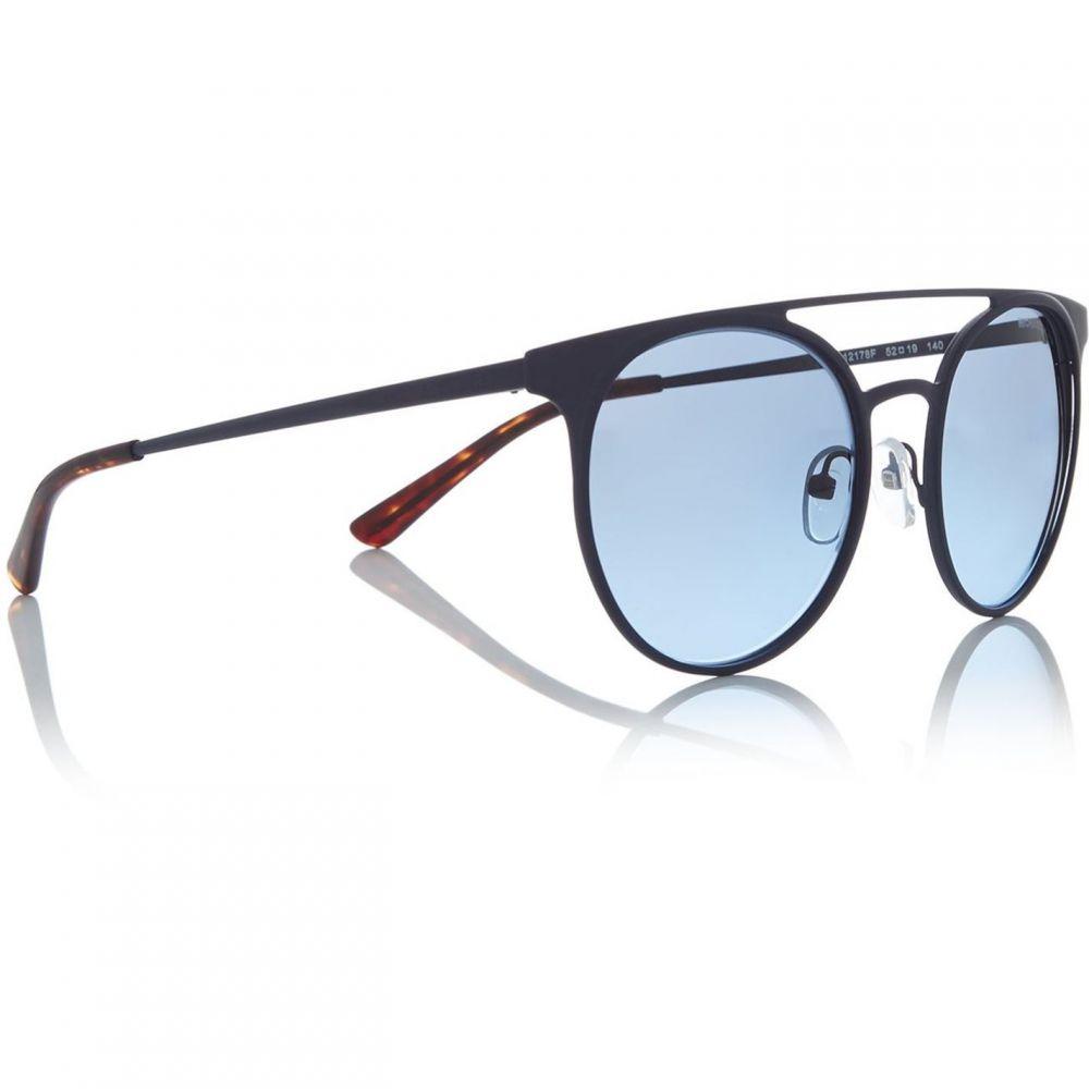 マイケル コース Michael Kors レディース メガネ・サングラス スクエアフレーム【Black Lugano Mk2064 Square Sunglasses】Black