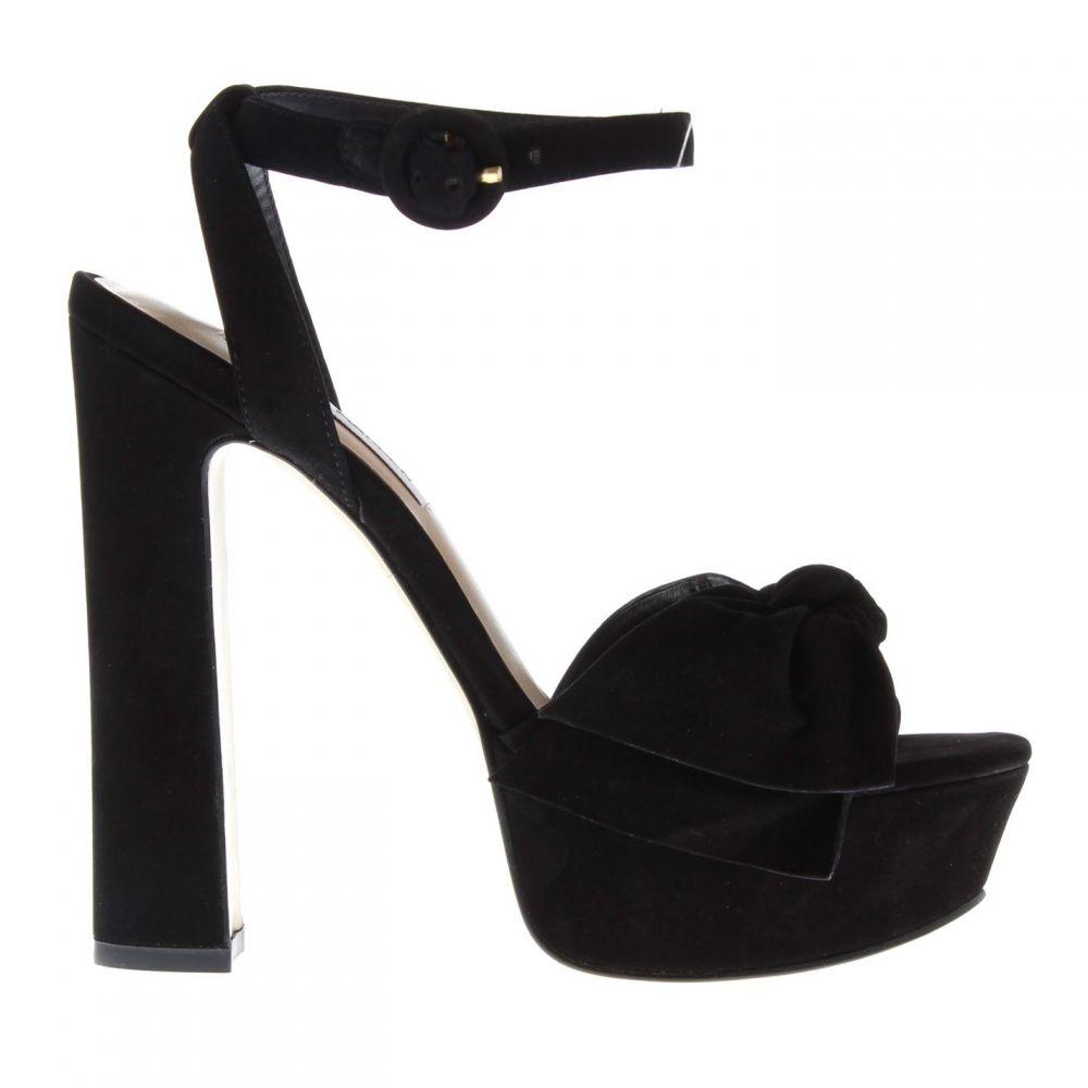 スティーブ マデン Steve Madden レディース サンダル・ミュール シューズ・靴【Breena Platform Sandals】Black