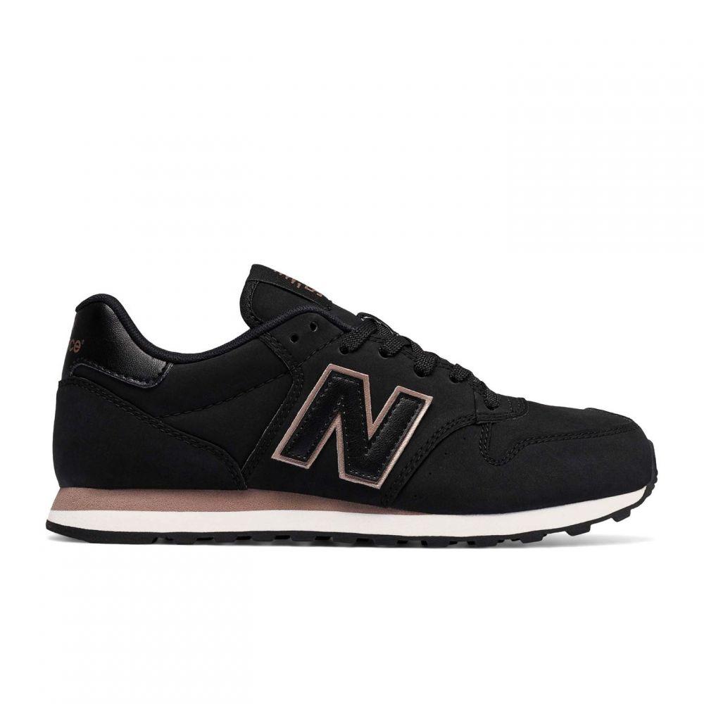 ニューバランス New Balance レディース スニーカー シューズ・靴【500 Trainers】Black/Pink