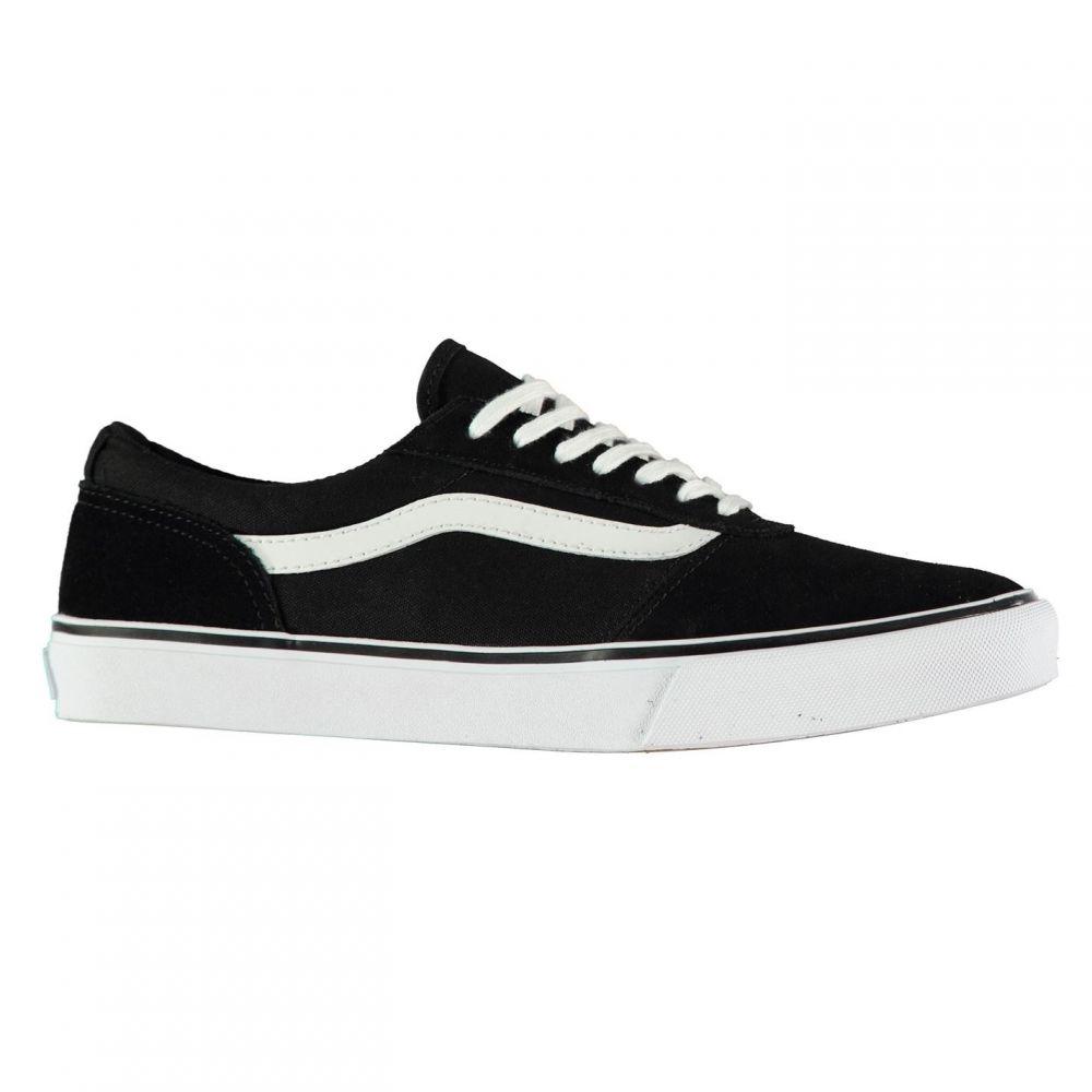 ヴァンズ Vans レディース スニーカー シューズ・靴【Maddie Suede Trainers】Black/White
