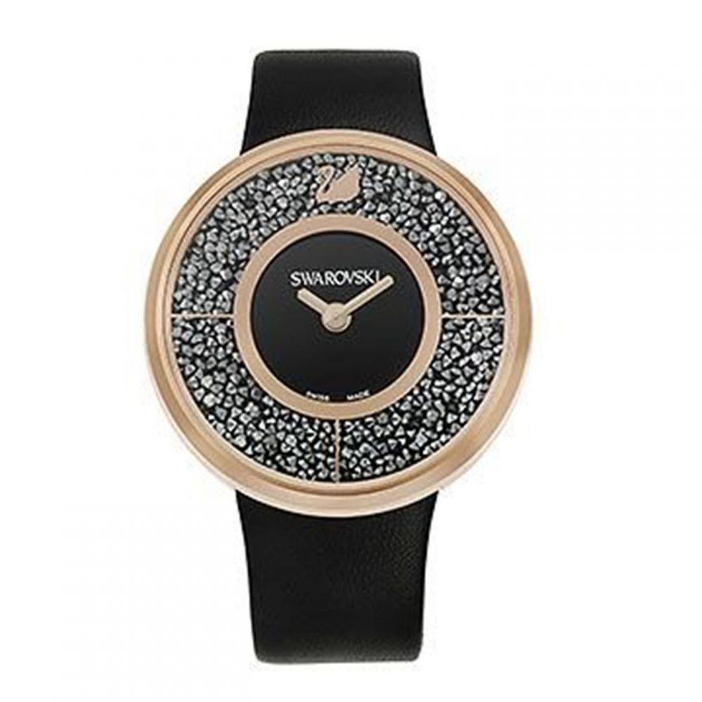 当店限定販売 スワロフスキー レディース 驚きの価格が実現 財布 時計 雑貨 腕時計 Swarovski Crystalline watch サイズ交換無料 Gold Rose