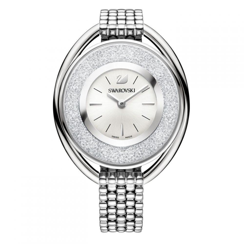 スワロフスキー Swarovski レディース 腕時計 【Crystalline oval watch】Silver