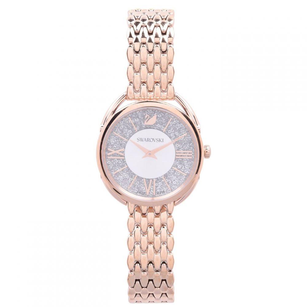 スワロフスキー Swarovski レディース 腕時計 【Crystalline Glam Watch】White