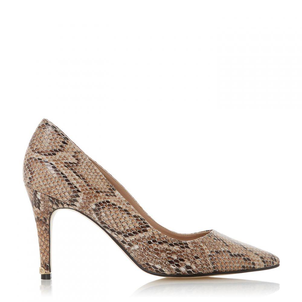 デューン Dune レディース パンプス シューズ・靴【Anna Signature Heel Trim Court Shoes】Natural