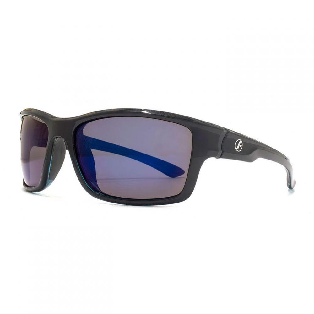 フリーダム Freedom レディース メガネ・サングラス 【26FRG145411 Blk & Blu Rubber Sunglasses】