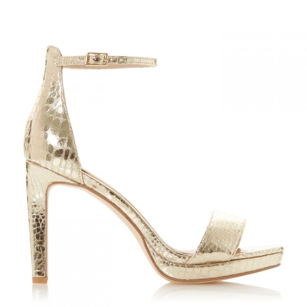 ヘッドオーバーヒールズ Head Over Heels レディース サンダル・ミュール シューズ・靴【Martinas Two Part Sandals】Gold