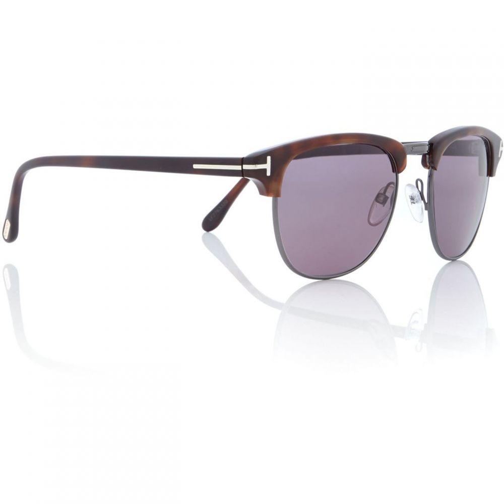 トム フォード Tom Ford レディース メガネ・サングラス 【Rectangular 0TR000154 Sunglasses】Havana