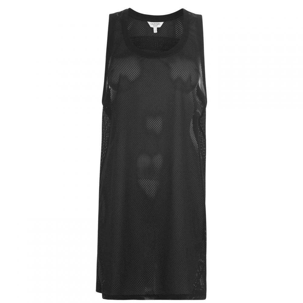 カルバンクライン Calvin Klein レディース ワンピース ワンピース・ドレス【Mesh Dress】Black