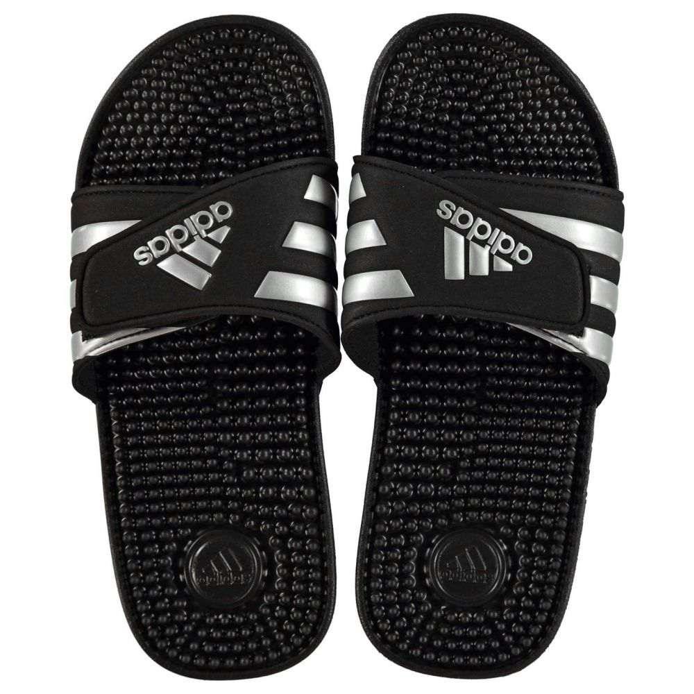アディダス adidas レディース サンダル・ミュール シューズ・靴【Adissage Sliders】Black/Silver