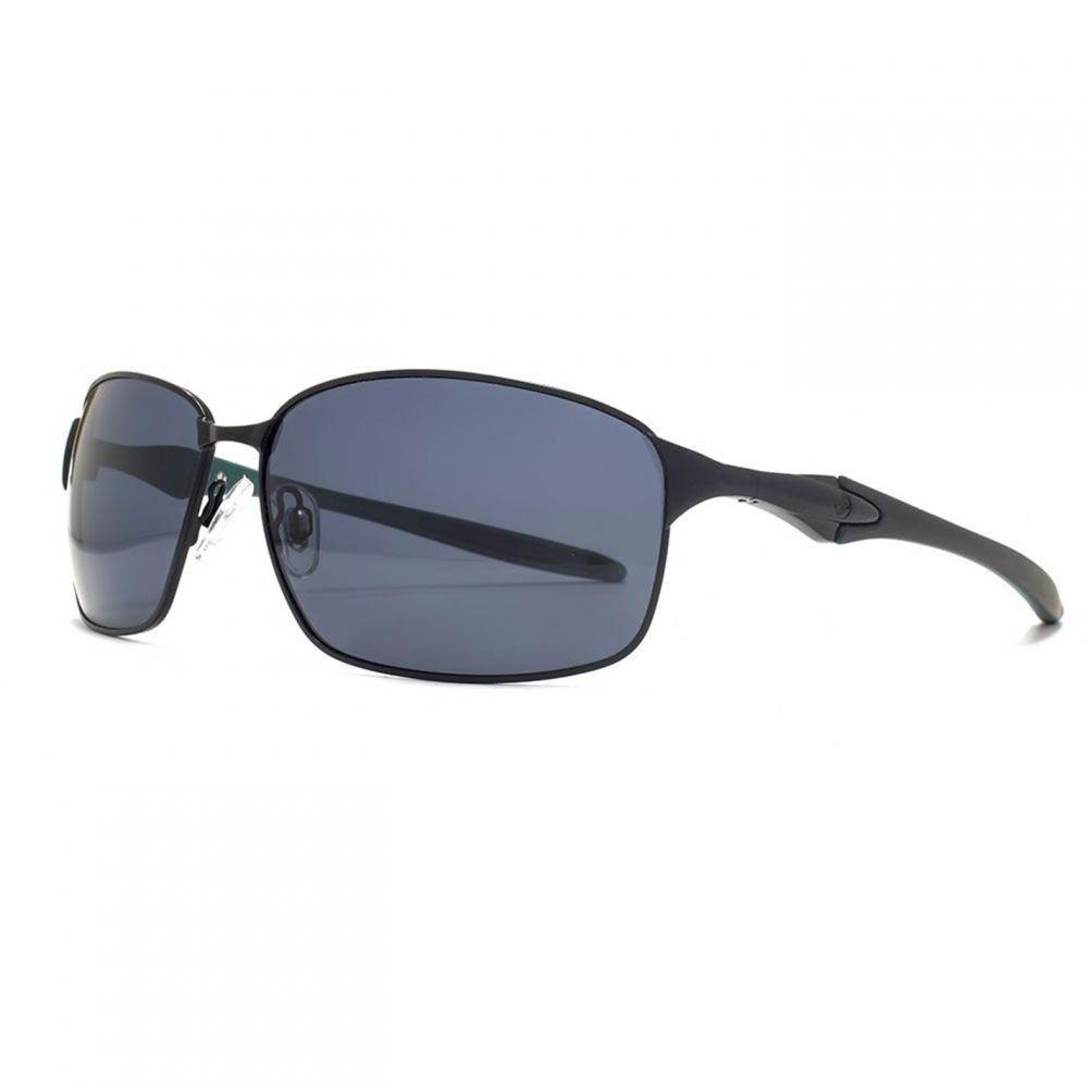 フリーダム Freedom レディース メガネ・サングラス 【26FRG145412 Blk & Grn Metal Sunglasses】
