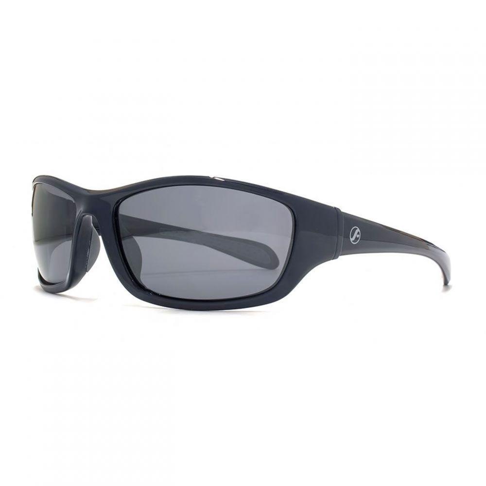 フリーダム Freedom レディース メガネ・サングラス 【26FRG145407 Blk & Gry Wrap Sunglasses】