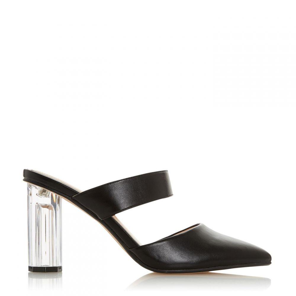 ヘッドオーバーヒールズ Head Over Heels レディース パンプス シューズ・靴【Cindee Persepx Heel Open Court Shoes】Black