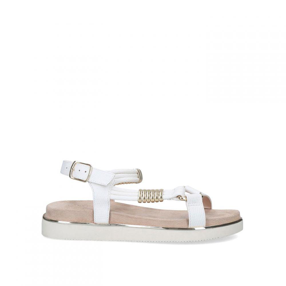 カーベラ Carvela レディース サンダル・ミュール シューズ・靴【Boujee Sandals】White