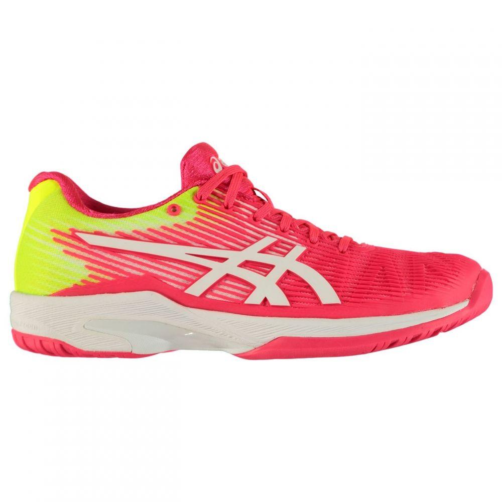 アシックス Asics レディース スニーカー シューズ・靴【Sol Speed FlyteFoam Trainers】Pink/White