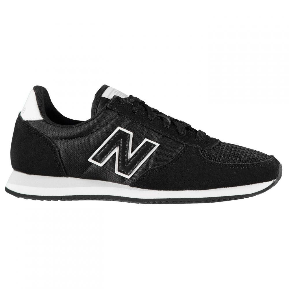 ニューバランス New Balance レディース スニーカー シューズ・靴【U220 Trainers】Black/White