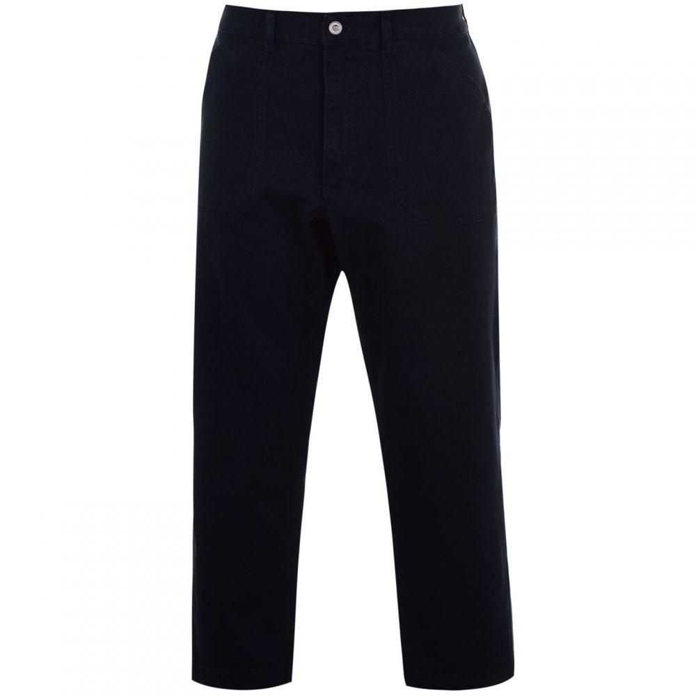 Albam ユーティリティー Albam Utility メンズ ボトムス・パンツ 【Loose Fit Work Trousers】Navy