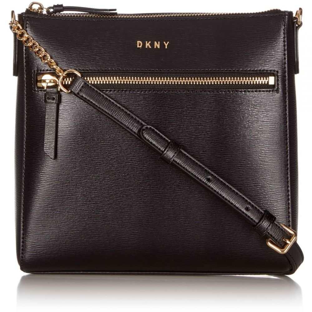 ダナ キャラン ニューヨーク DKNY レディース ショルダーバッグ バッグ【Top Zip Pocket Cross Body Bag】Black