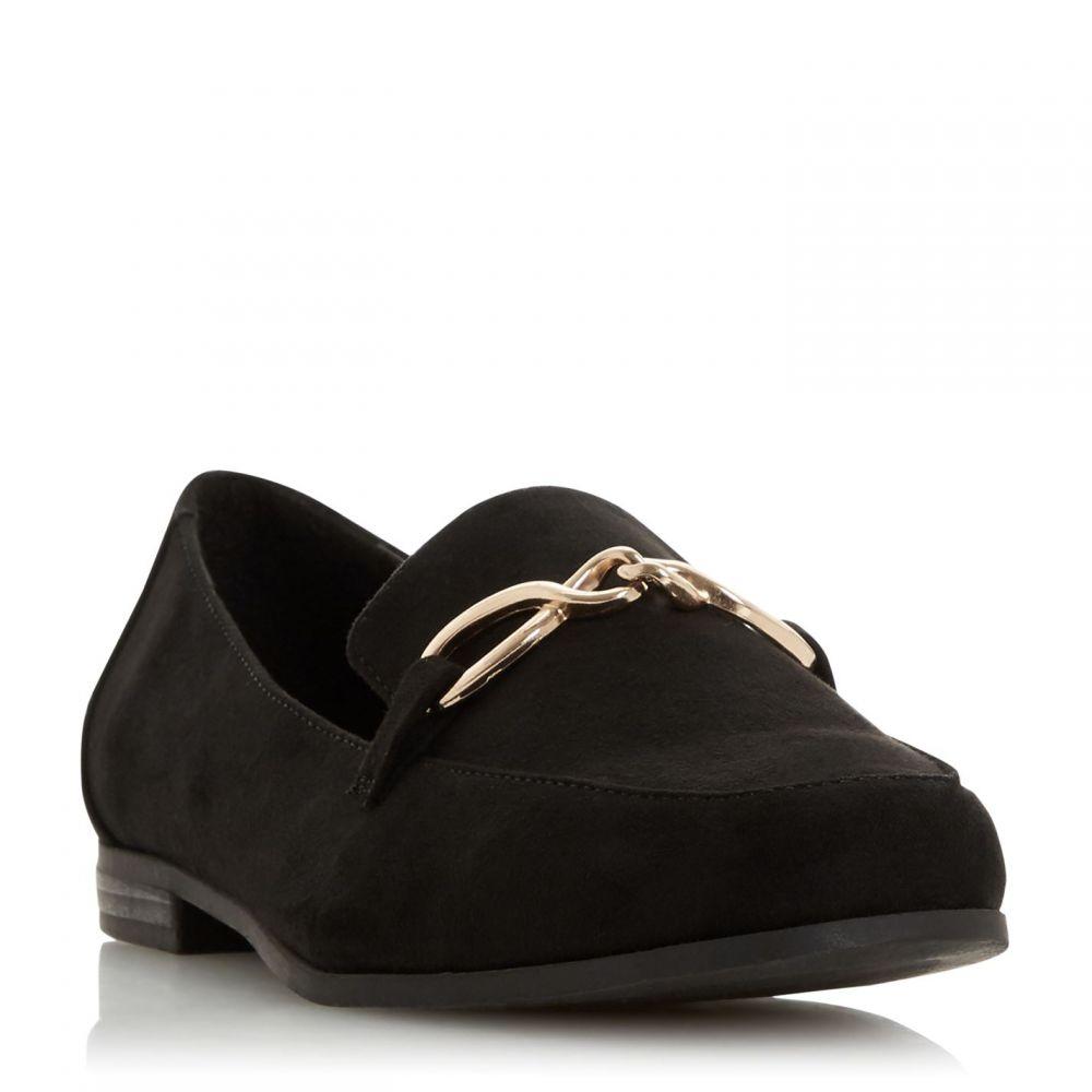 ヘッドオーバーヒールズ Head Over Heels レディース ローファー・オックスフォード シューズ・靴【Gaho Twist Front Detail Loafers】Black