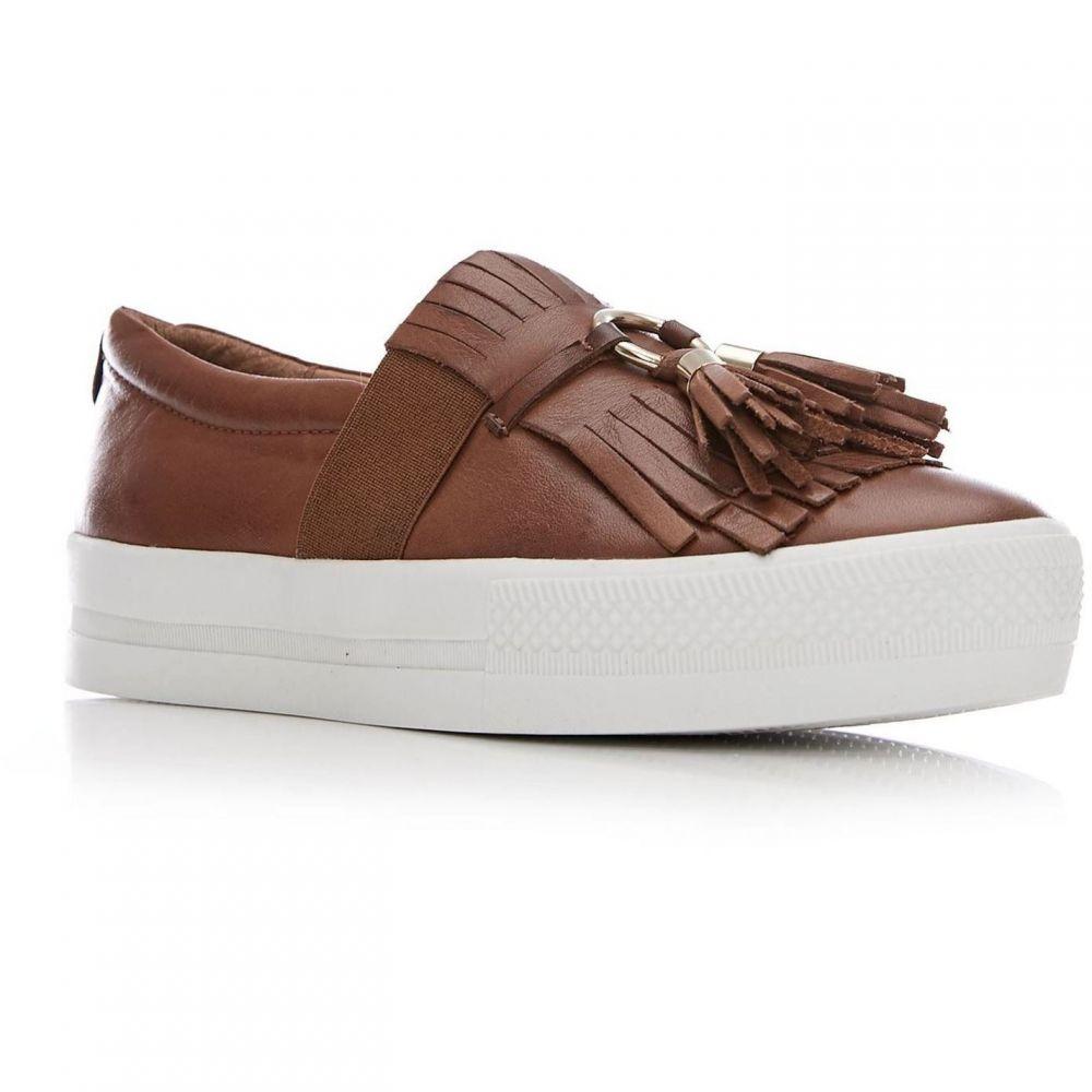 モーダインペレ Moda in Pelle レディース シューズ・靴 【Ardena Low Leisure Shoes】Tan