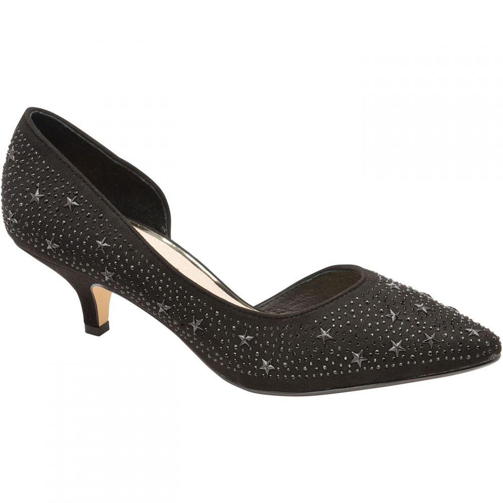 ラヴェル Ravel レディース パンプス キトゥンヒール シューズ・靴【Doral Kitten Heel Court Shoes】Black