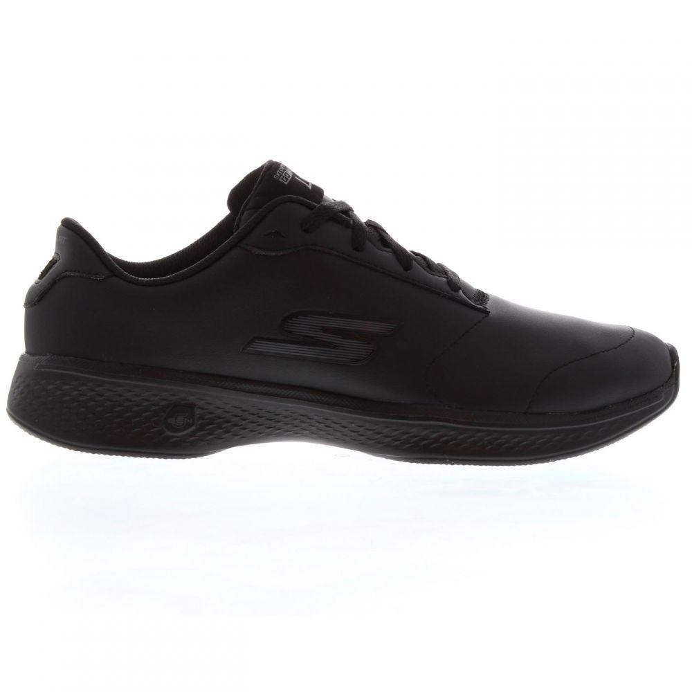 スケッチャーズ Skechers レディース スニーカー シューズ・靴【Go Walk 4 Trainers】Black/Black