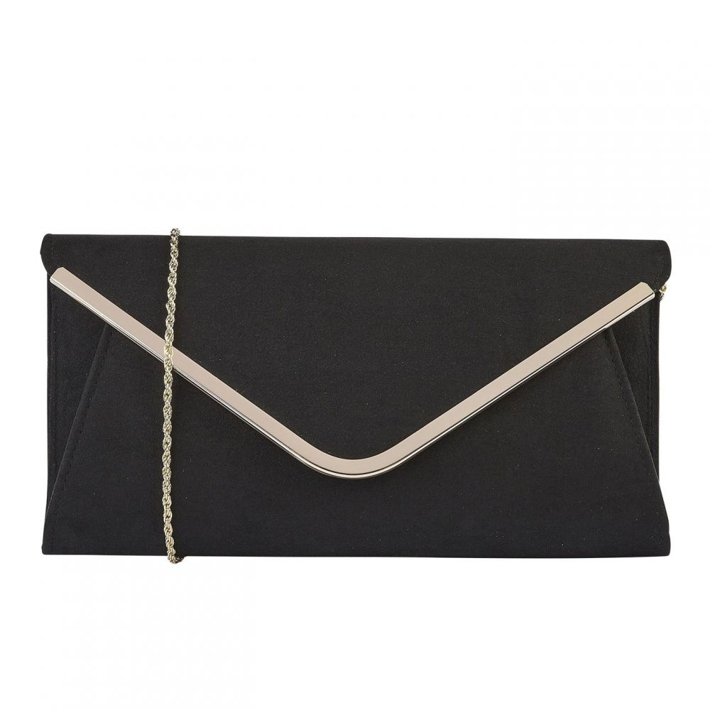 ロータス Lotus Shoes レディース クラッチバッグ バッグ【Sommerton Microfibre Clutch Bag】Black
